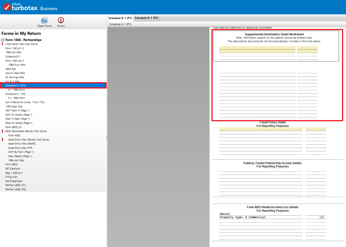 form 1065 turbotax  Solved: Can footnotes be added to Form 9 Schedule k-9 ...