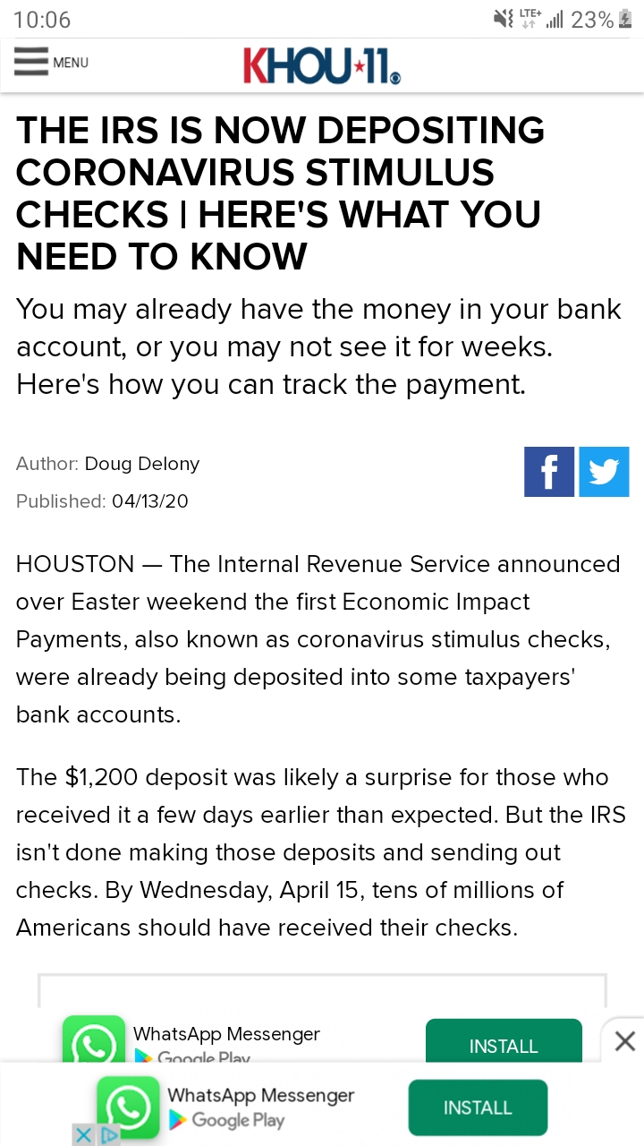 Has Anyone Gotten Their Stimulus Back Yet Did It Page 8 Updated april 8th, 2020 at 8:00 amthis is a developing story. has anyone gotten their stimulus back