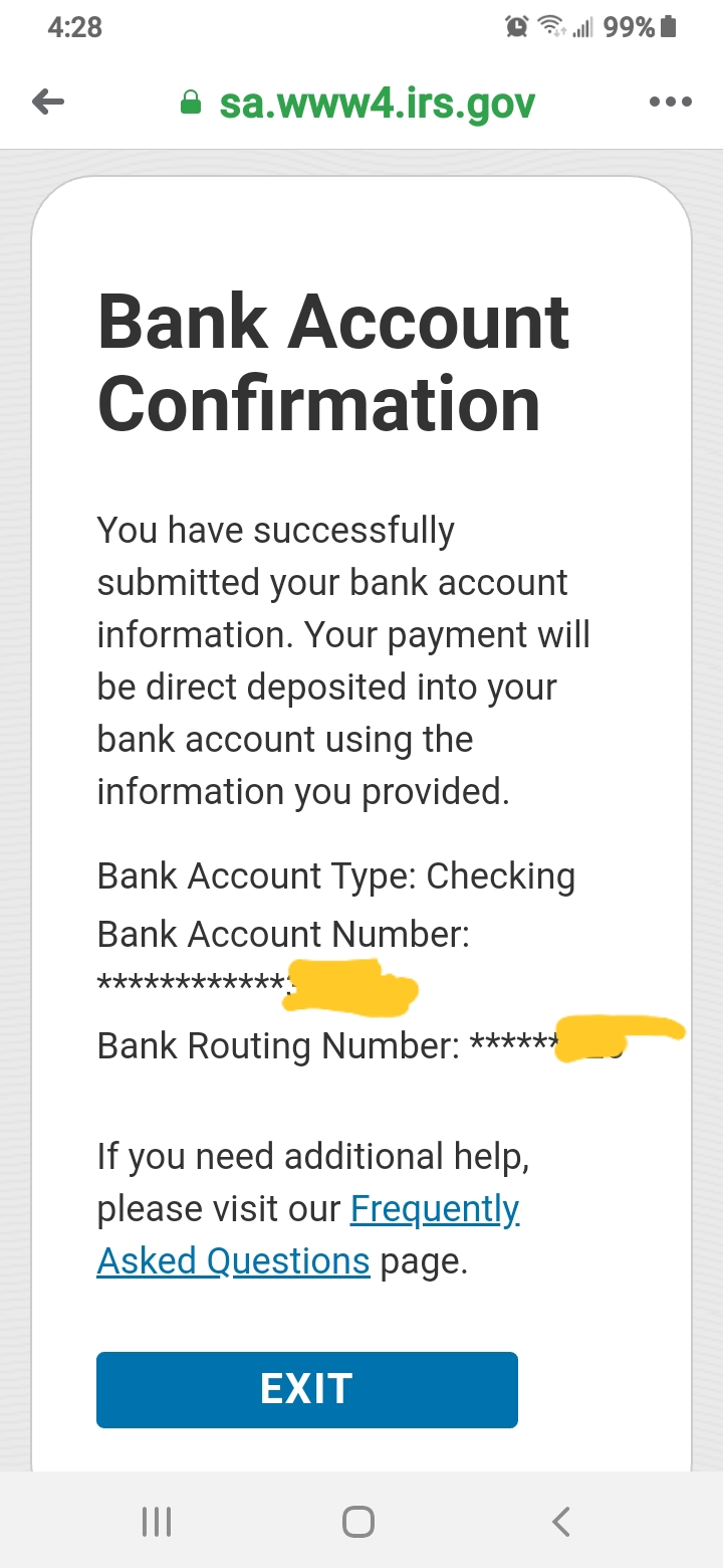 Has Anyone Gotten There Stimulus Check On Turbo Ca Page 28 And may be used everywhere as of tonight, we've already delivered this stimulus money to over 230,000 chime members. turbotax intuit